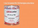2K Autolack RAL 1034 Pastellgelb 1 LTR Hochglanz