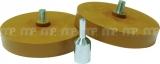 Folienradierer-Set yellow 1 Set