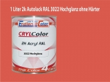 2K Autolack RAL 3022 Lachsrot 1 LTR Hochglanz