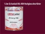 2K Autolack RAL 4004 Bordeauxviolett 1 LTR Hochglanz