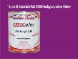 2K Autolack RAL 4008 Signalviolett 1 LTR Hochglanz