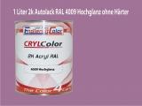 2K Autolack RAL 4009 Pastellviolett 1 LTR Hochglanz