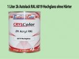 2K Autolack RAL 6019 Weißgrün 1 LTR Hochglanz