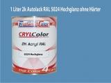 2K Autolack RAL 5024 Pastellblau 1 LTR Hochglanz