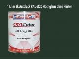 2K Autolack RAL 6020 Chromoxidgrün 1 LTR Hochglanz