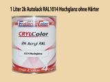 2K Autolack RAL 1014 Elfenbein 1 LTR Hochglanz