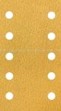 Schleifpapier-Streifen GoldFilm 115 x 228 mm, 10-Loch, Klett |1 Blatt