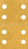 Schleifpapier-Streifen GoldFilm 70 x 198 mm, 8-Loch, Klett |1 Blatt