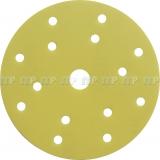 Schleifscheibe GoldFilm 15-Loch, 150 mm, Klett | 1 Blatt
